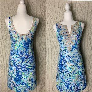 Lilly Pulitzer Bennet Blue Salty Seas Dress